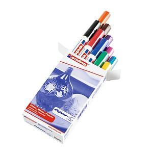 10 Edding 750 Lackmarker Farbsortiert 2 0 4 0 Gunstig Online