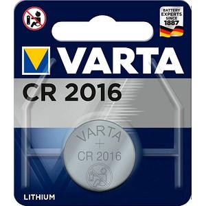 Knopfzellen CR2016 von VARTA