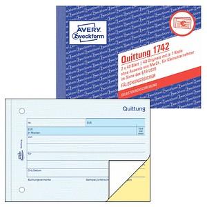 Avery Zweckform Formularbuch 1742 Günstig Online Kaufen Office