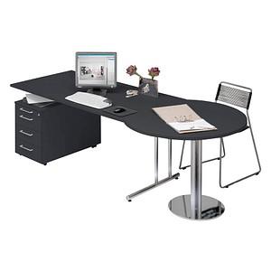3b9ae0ac8fd643 Kerkmann Büromöbel-Set Lago grau rechteckig günstig online kaufen ...