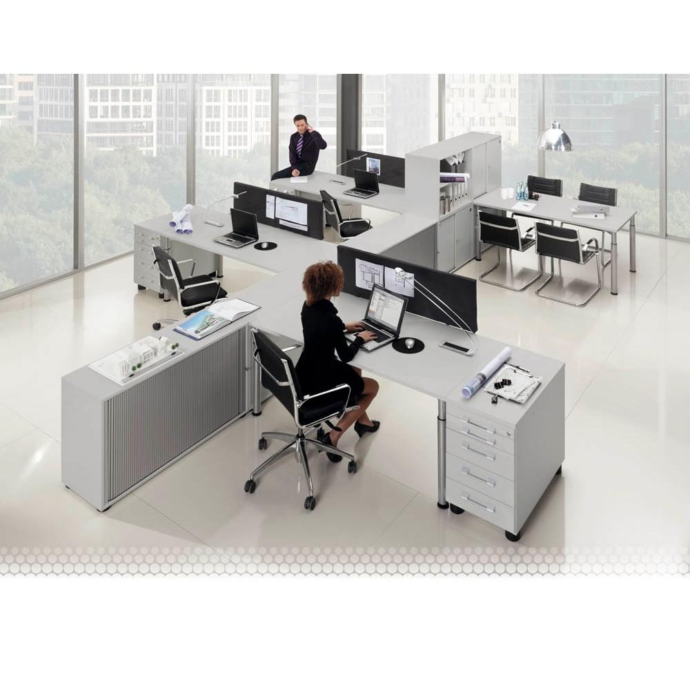 WELLEMÖBEL Sichtblende Hyper grau günstig online kaufen | office ...