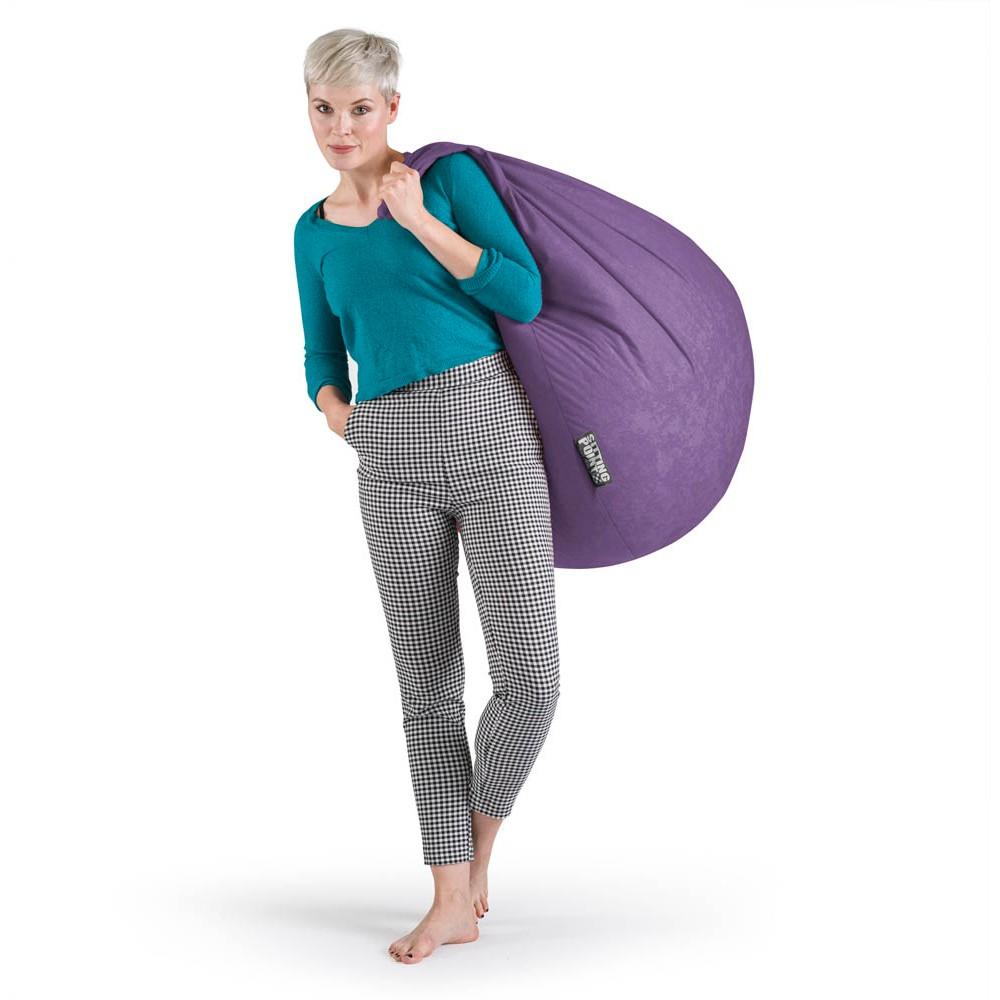 Sitting Point Beanbag Easy Xl Sitzsack Lila Günstig Online Kaufen