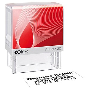 Textstempel Printer 20 von COLOP