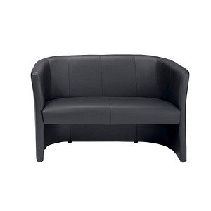 nowy styl sofa schwarz kunstleder g nstig online kaufen office discount. Black Bedroom Furniture Sets. Home Design Ideas