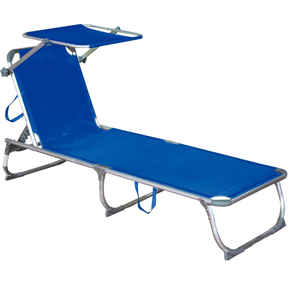 Harms Garden Pleasure Kiso Sonnenliege blau günstig online kaufen ...