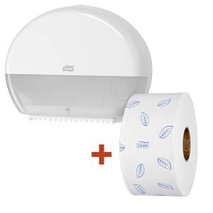 tork toilettenpapierspender mini jumbo g nstig online kaufen office discount. Black Bedroom Furniture Sets. Home Design Ideas