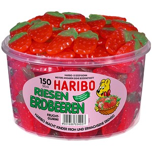 Fruchtgummis RIESEN ERDBEEREN von HARIBO