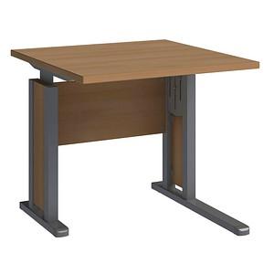 wellem bel schreibtisch jobexpress buche quadratisch g nstig online kaufen office discount. Black Bedroom Furniture Sets. Home Design Ideas
