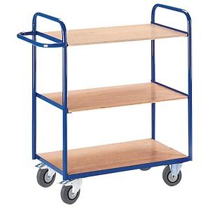 rollcart etagenwagen blau 50 0 x 80 0 cm bis 150 0 kg. Black Bedroom Furniture Sets. Home Design Ideas