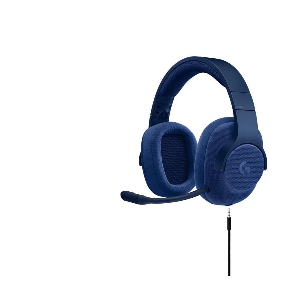 Logitech G433 Headset Blau Gnstig Online Kaufen Office Discount Sony Mdr Xb650btr Red Von